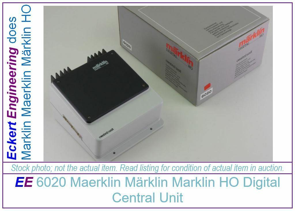 EE 6020 LN Marklin HO Digital Control Unit LikeNew Condition with OBX