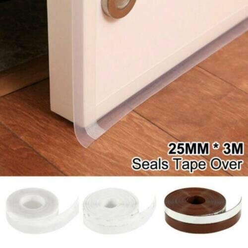 Weather Seal Window Silicone Sealing Strip Door Garage Stripping Soundproof