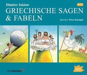 GRIECHISCHE-SAGEN-amp-FABELN-INKIOW-DIMITER-6-CD-NEU