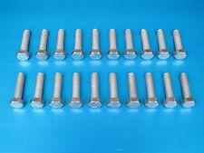 """20 Pack. 3/8 x 1 1/2"""" BSF Bolts (Setscrews) High Tensile Steel, BZP"""