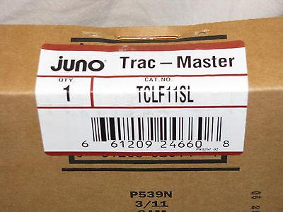 Black TEK 11-2 End Feed for 2 circuit Track Lighting