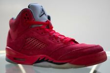 d23a4b93f94 Air Jordan 5 Retro Suede Big Kids 440888 602 University Red Shoes Youth Boy  6.5Y