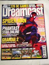 Dreamcast Magazine # 19 , 2001 Spiderman Cover