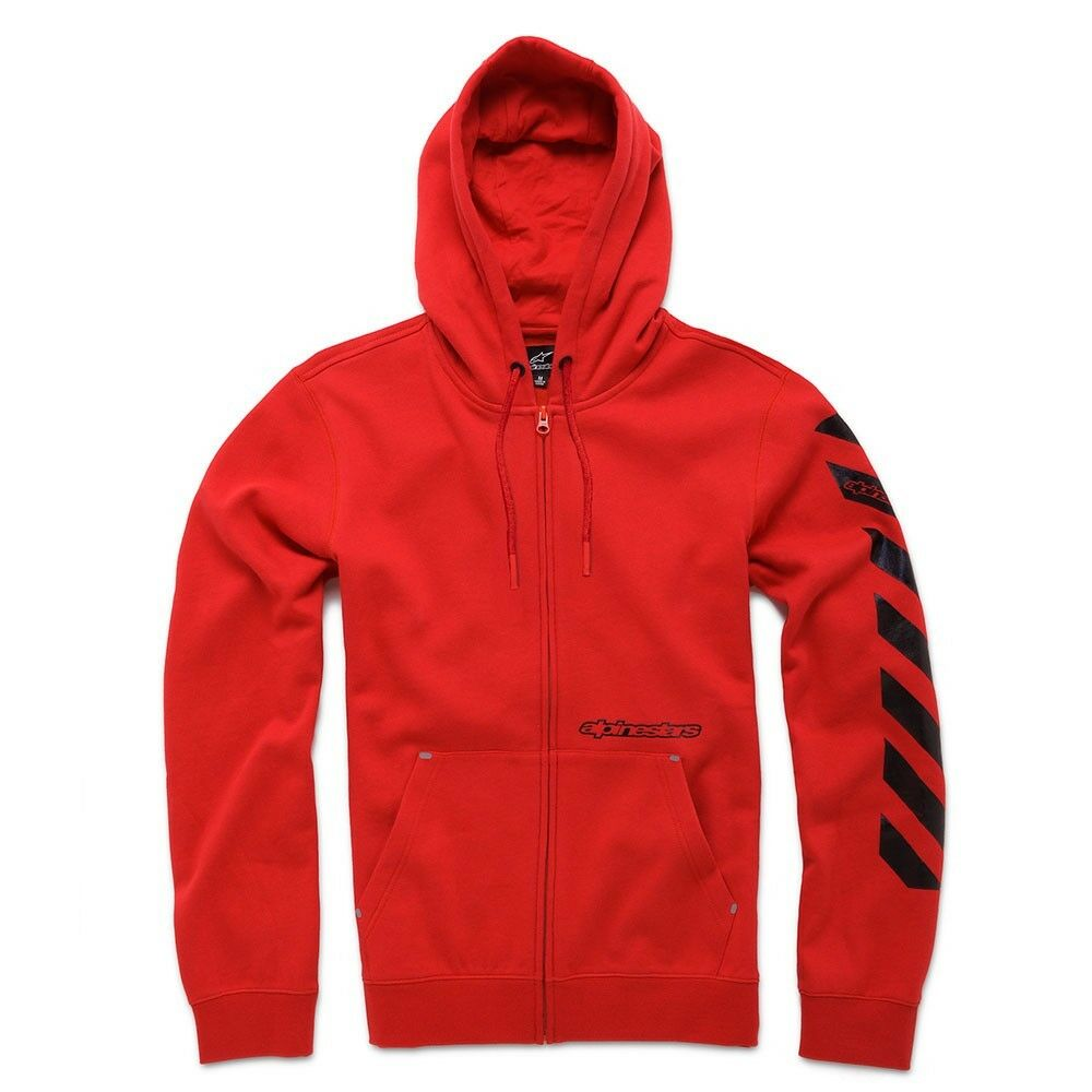 Alpinestars Debrief Fleece Hoody (M) ROT