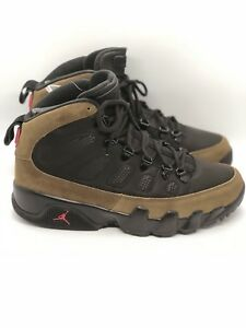 best service 460c6 309d1 Details about New Air Jordan 9 Retro Boot NRG black Olive US 9 AR4491-012  Authentic
