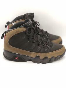 4b9a299a83bef0 New Air Jordan 9 Retro Boot NRG black Olive US 8.5 AR4491-012 ...