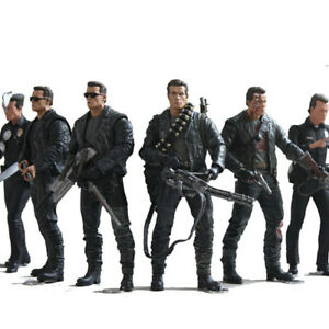 The-Terminator-2-T-800-T-1000-7-Types-PVC-Action-Figure-Collectible-Model-Toy