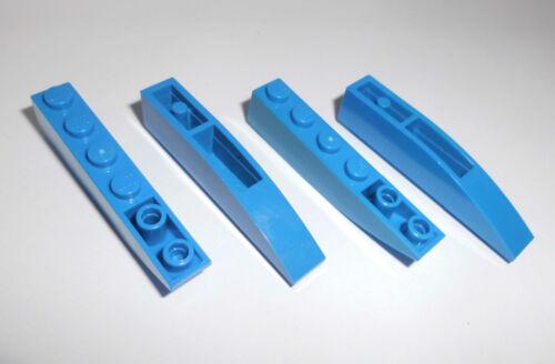 Lego in blau aus 75012 4953 6747 4402 4882 4 Bogensteine 1x6x1 invers 42023