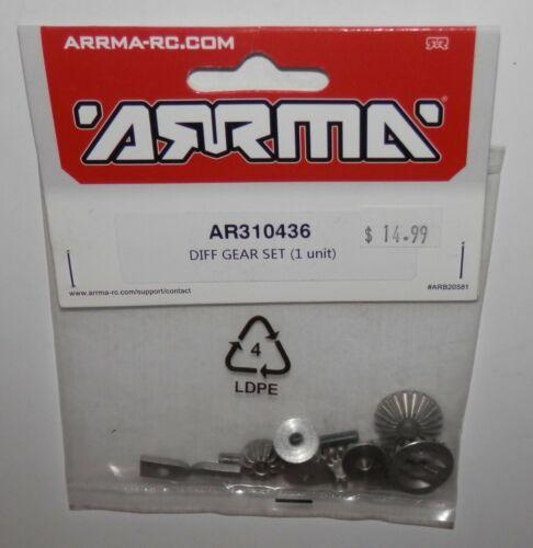 #AR310436 NIP ARRMA Diff Gear Set 1 Unit