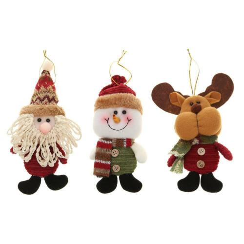 Christmas Flannelette Lovely Xmas Tree Hanging Doll Ornaments Decoration JF#E