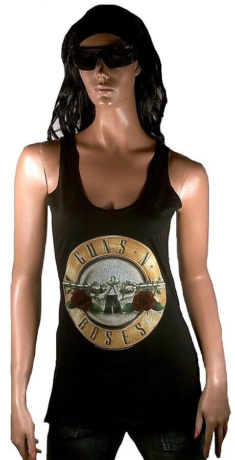 Amplified OFF. Guns N 'rosaS Drum Logo Rock Star Designer VIP WOW Tank Top Shirt L