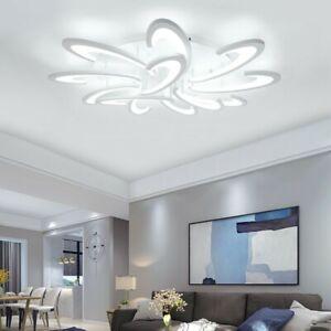 Acrylic-LED-Ceiling-Light-Flush-Mount-Lamp-Modern-Living-Room-Bedroom-Chandelier
