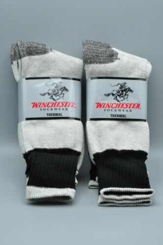 NEW Winchester Thermal Socks Size 10-13 6 Pairs altogether 2 PACK