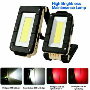 Rechargeable-Magnetic-COB-LED-Work-Light-Lamp-Folding-Inspection-Torch-CarRepair