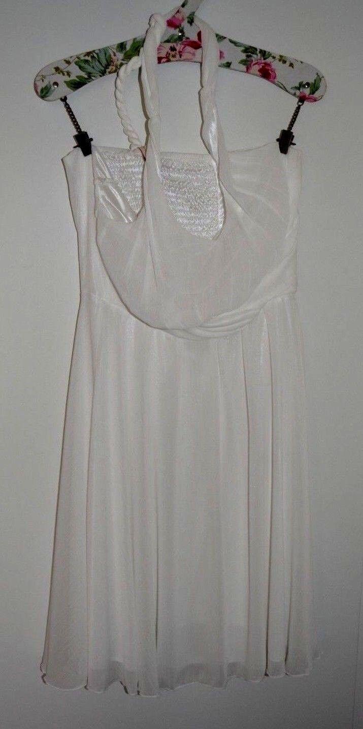 Kleid, weiß, Damen, Größe 38 , von Second Female Copenhagen