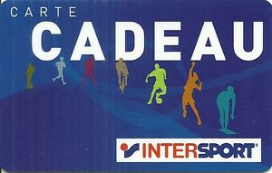 Carte Cadeau Intersport.Details Sur Rare Carte Cadeau Intersport Boutique Magasin Sport Card