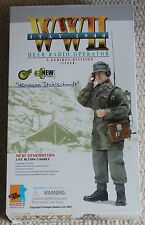 "Dragon Action Figure 1/6 ww11 alemán Hermann 70374 12"" en Caja hizo Cyber Hot Toy"