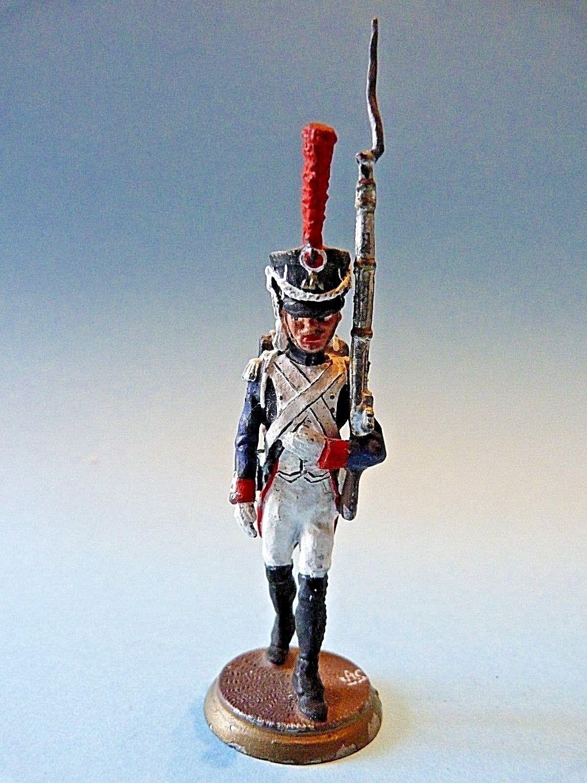 Figurine d'art Claude Alexandre - Soldat (2) infanterie de ligne premier empire