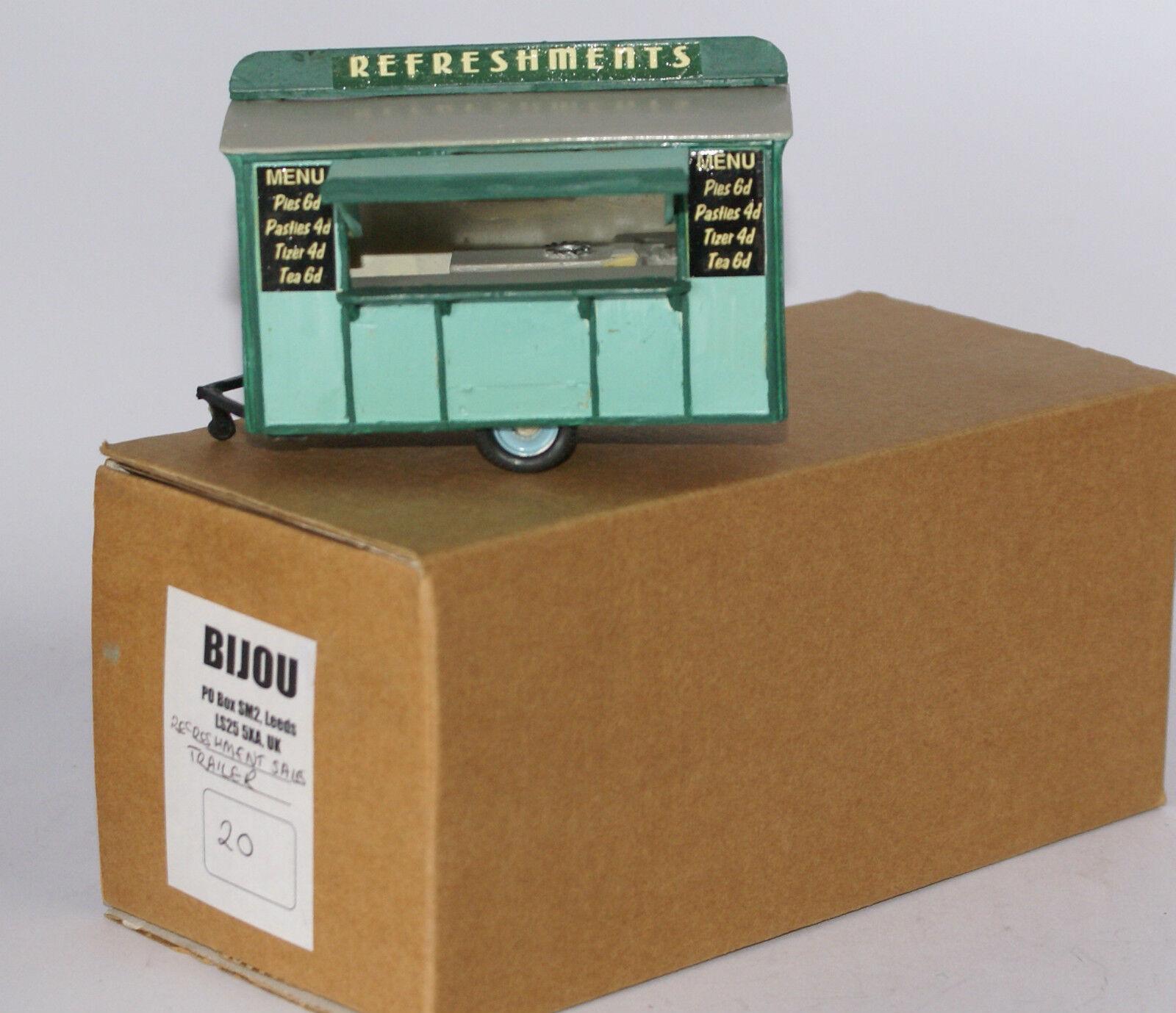 Sun Motor Company Bijou AOMA Refreshment Sales Trailer - Predotype Model. I 50
