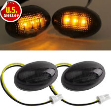 2xCar Fender Side Marker light Replacement LED Light amber For 99-2010 Ford F350