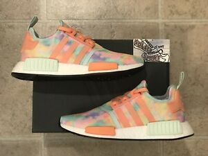 New Adidas Nmd R1 Tie Dye Running Shoes Boost Yeezy Womens Fy1271