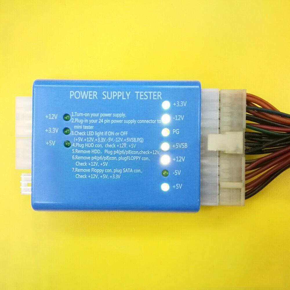 JQ_ High Quality 20/24 Pin PSU ATX SATA HD Power Supply Test