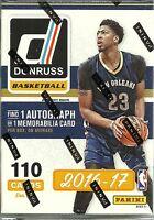 2016-17 Donruss Basketball Nba Trading Cards Retail 110ct. Blaster Box Reduced