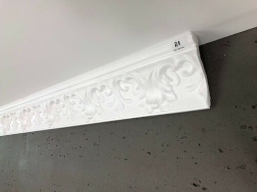 Soft Polystyrene Victorian Style Covings Cornices Z1HQ 125mm x 65mm Lightweight