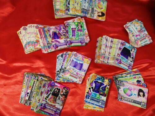 Aikatsu Stars Friend Lot set 20 Card Anime Game TCG Carddass Japan Bandai  holo