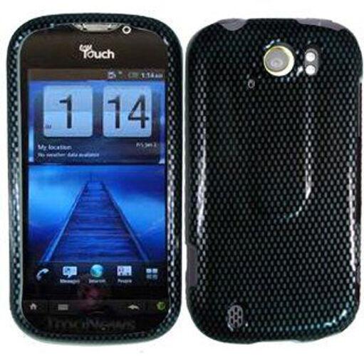For T-Mobile myTouch 4G Slide Hard Protector Case Phone Cover Carbon Fiber