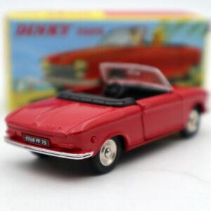Atlas-Dinky-Toys-511-Cabriolet-204-Peugeot-Red-1-43-Diecast-models-car