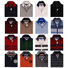 NWT Tommy Hilfiger Men's Mock Neck Full Zip Logo Sweater Jacket S,M,L,XL