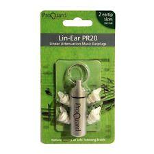 Proguard Lin-Ear PR20 Musicians Ear Plugs - Lin- Ear PR20 with Carry Case