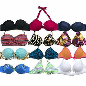 Détails sur Victoria's Secret Natation Haut Bikini Maillot de Bain Contre Neuf Nwt Victorias