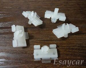 50 Pcs Moulding Clip Nylon Retainer A21435 For Mercedes Benz W124 124-988-04-78