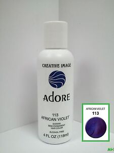 Image Is Loading Creative Adore Semi Permanent Hair Color 113