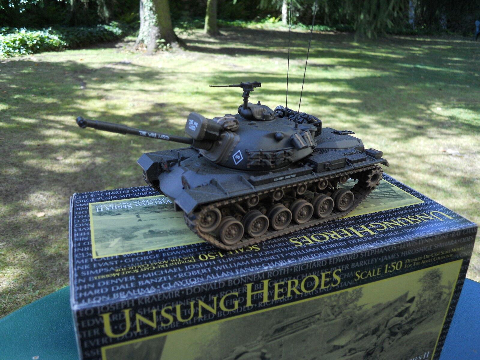 Vietnam Corgi Militar Us 50303 Tanque M 48 A3 Ejército  The War  Mint Box