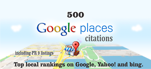 500 Google Map Citations with Backlinks for Local SEO. Google Rank, SEO