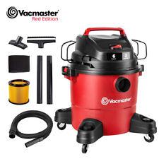 Vacmaster 6 Gallon Wet Dry Vacuum Cleaner Car Shop Carpet Cleaner 3 Peak HP