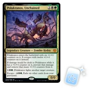 FOIL POLUKRANOS UNCHAINED Theros Beyond Death THB Magic MTG MINT CARD