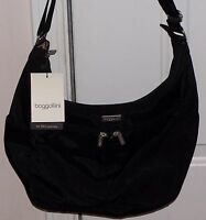 Big Sale Baggallini Cargo Crossbody Shoulder Bagg Hobo Xbody Sling Bag Black