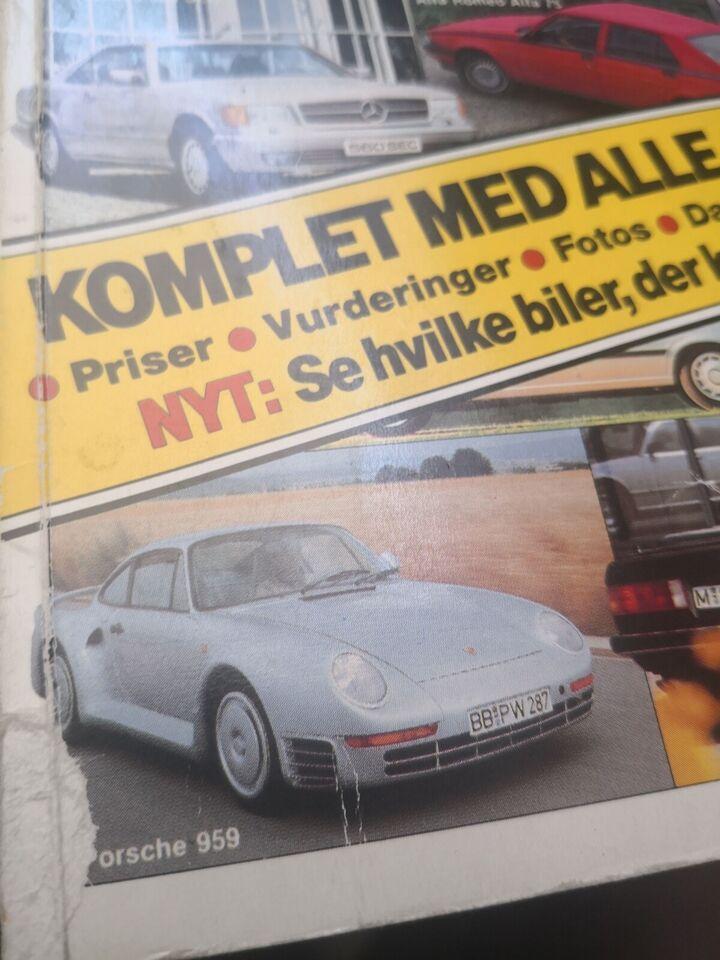 Bil revyen 1980 og 86, emne: bil og motor