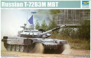 Trumpeter 1:35 T-72B3M Russian MBT Tank Model Kit