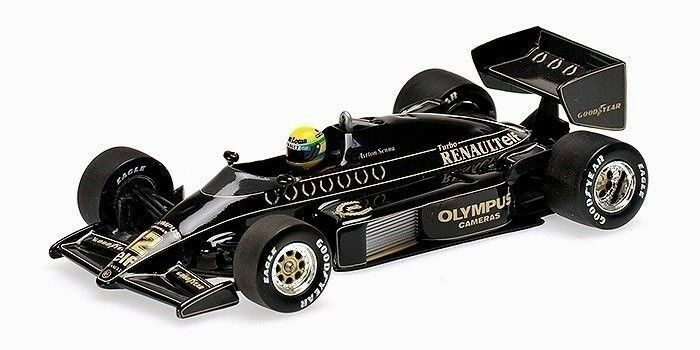 1 43 Senna Collection  JPS Lotus Renault 97T 1985 1985 1985 Ayrton Senna 540854312 211bcf