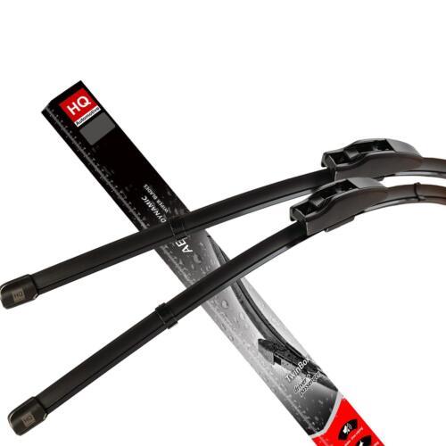 12.2005-10.2009 Front Flat Aero Wiper Blades Fit MITSUBISHI L200 KB