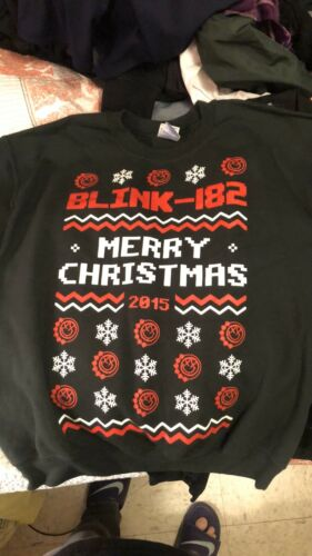 blink 182 Christmas sweater