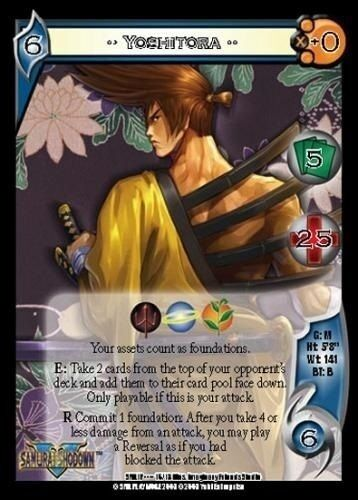 #16//18-4-Dot Promo Character Card YOSHITORA 2-Dot UFS Samurai Showdown