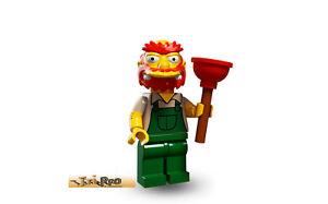 13 Hausmeister Willie Nr Simpsons Serie 2 Lego Minifiguren