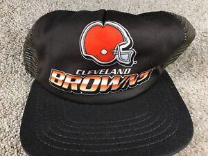 Image is loading Vintage-Cleveland-Browns-Hat-New-Era-Snapback-Cap- 892ad71d0
