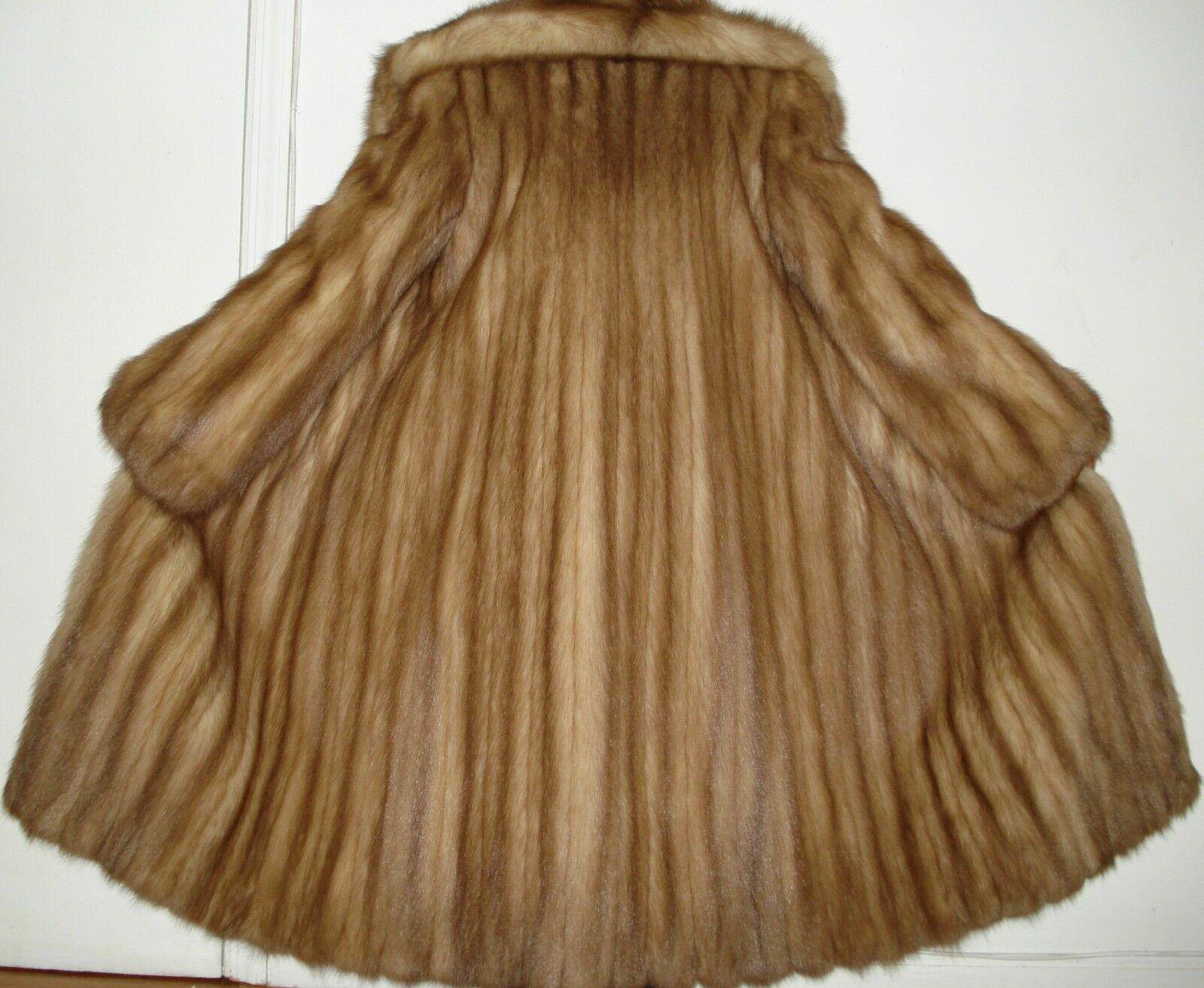 Revillon Stone Marten Sable Fur Coat Size 4-6 Excellent Condition FREE SHIPPING